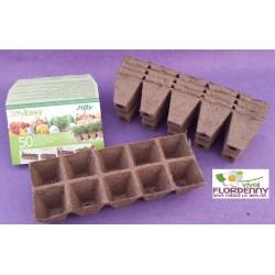 BLUMEN JIFFY EASY 32 POTS contenitore biodegradabile semina semi talee taleaggio orto