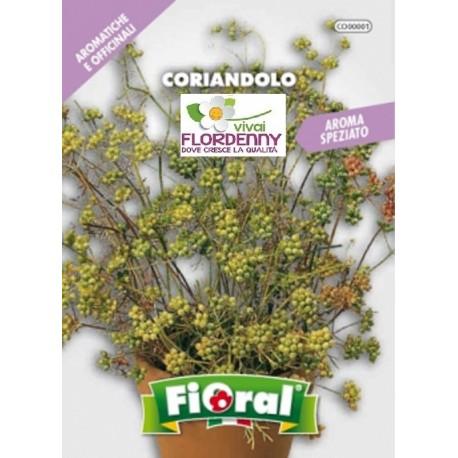 Fioral semi di coriandolo aromatiche aromatica officinale for Giardino officinale