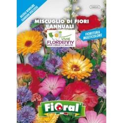 FIORAL SEMI DI FIORI ROSA MIX fiori sementi giardino aiuola piante