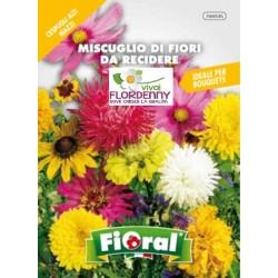 FIORAL SEMI DI FIORI ANNUALI MIX fiori sementi giardino aiuola piante
