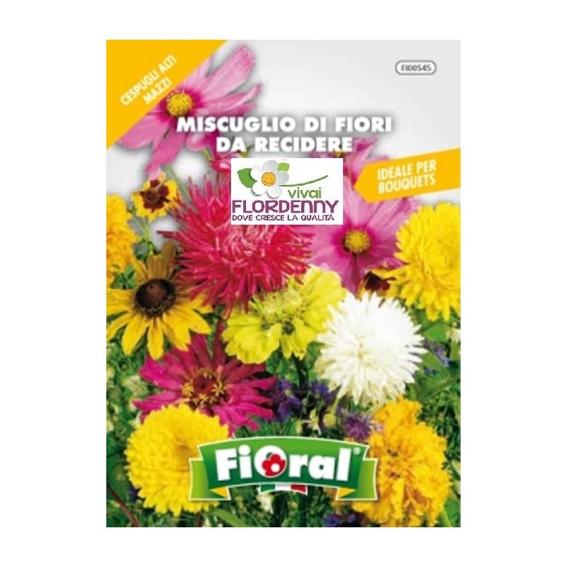 Fioral semi di fiori da recidere in mix fiori sementi for Vendita semi fiori