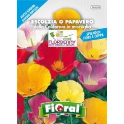 FIORAL SEMI DI NIGELLA DI DAMASCO IN MIX fiori sementi giardino aiuola piante