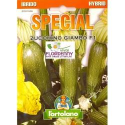 SPECIAL SEMI DI ZUCCHINO PRESIDENT F1 orto sementi piantine gardino conserva