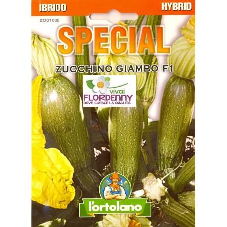 Special semi di zucchino giambo chiaro f1 orto sementi for Piantine orto prezzi