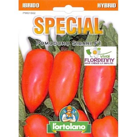 Special semi di pomodoro sibari f1 orto sementi piantine for Piantine orto prezzi