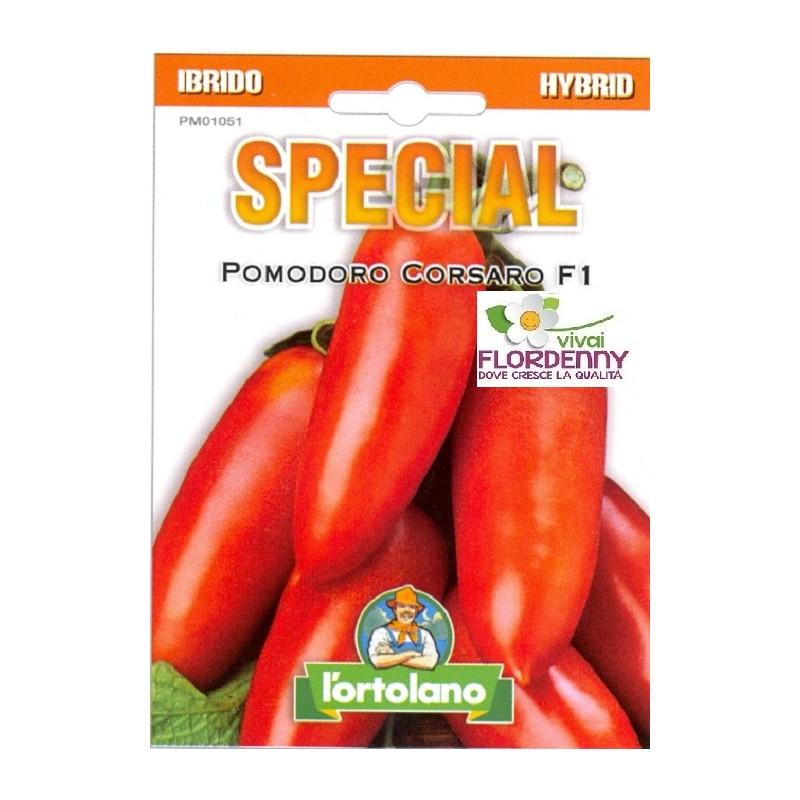 Special semi di pomodoro corsaro f1 orto sementi piantine for Piantine orto prezzi