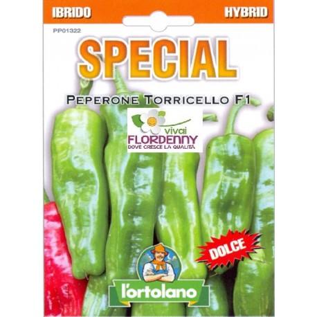 Special semi di peperone torricello orto sementi piantine for Piantine orto prezzi