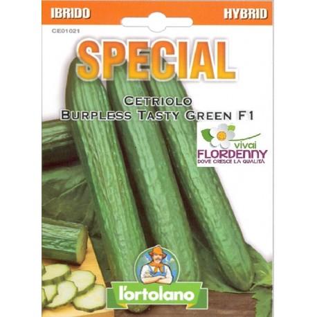 Special semi di cetriolo lungo tasty f1 orto sementi for Piantine orto prezzi