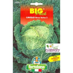 BIG PACK CAVOLO CAPPUCCIO CUORE DI BUE SEMI L'ORTOLANO orto sementi seme ortolano ortaggio