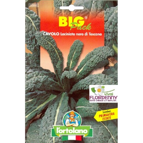 BIG PACK CAVOLO BROCCOLO SEMI L'ORTOLANO orto sementi seme ortolano ortaggio