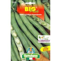 BIG PACK FAGIOLINO NANO ROCQUENCOURT SEMI L'ORTOLANO orto sementi seme ortolano ortaggio