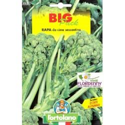 BIG PACK CIME DI RAPA QUARANTINA SEMI L'ORTOLANO orto sementi seme ortolano ortaggio