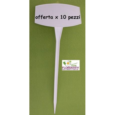 PALETTA SEGNANOME SEGNAPREZZO 10 PZ H30 semina prezzi listino