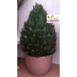 VIRIDIUM CIPRESSO ARTIFICIALE 75cm PER ESTERNI E INTERNI pianta sintetica