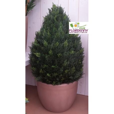 VIRIDIUM BOSSO BUXUS ARTIFICIALE 64cm PER ESTERNI E INTERNI pianta sintetica