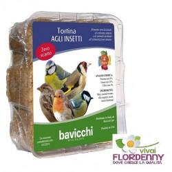 BAVICCHI TORTINA FRUTTI ROSSI 315g UCCELLINI BIRDFEEDING uccelli birdwatching mangime