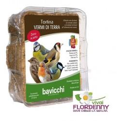 BAVICCHI TORTINA FRUTTA SECCA 315g UCCELLINI BIRDFEEDING uccelli birdwatching mangime