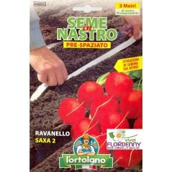 ORTO IN NASTRO CAROTA SEMI PRESPAZIATI seme semina orto ortaggi aromatiche