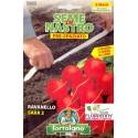ORTO IN NASTRO RAVANELLO SEMI PRESPAZIATI seme semina orto ortaggi aromatiche