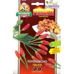 PICCANTE IN CUCINA PEPERONCINO A MAZZETTI SEMI IN BUSTA seme semina orto ortaggi aromatiche
