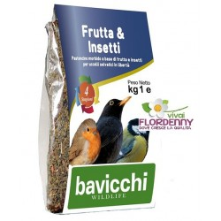 BAVICCHI GRANAGLIA 4 STAGIONI 1Kg UCCELLINI BIRDFEEDING uccelli birdwatching mangime