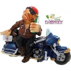MOTOCICLISTA HARLEY DAVIDSON SIGARO motoraduno centauro moto
