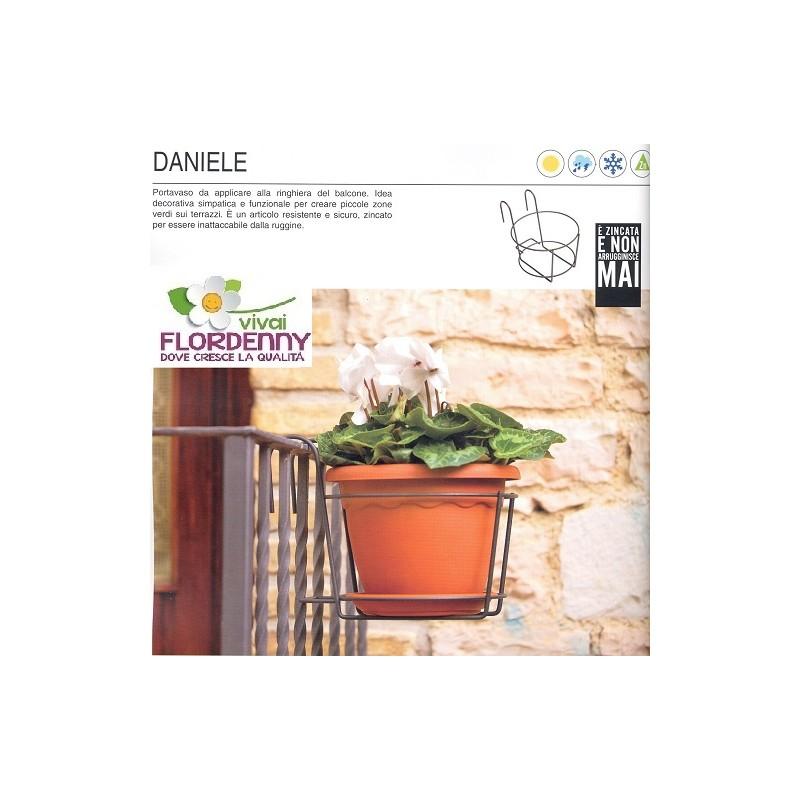 Soleluna portavaso cm 22 balcone vasi fioriere fioriera for Vasi balcone