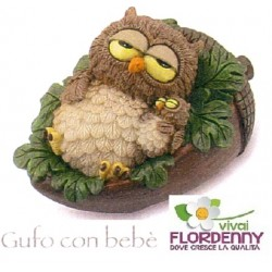 GUFO GOOD NIGHT COLLECTION LES ALPES gufo civette gufetto civetta fantasy bosco