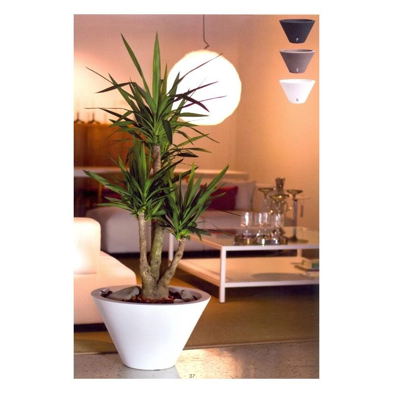 Nicoli vaso chiron 60 vasi resina vaso arredamento piante for Vasi nicoli