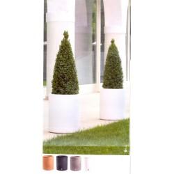 NICOLI VASO ECHO 35 vasi resina vaso arredamento piante giardino terrazzo