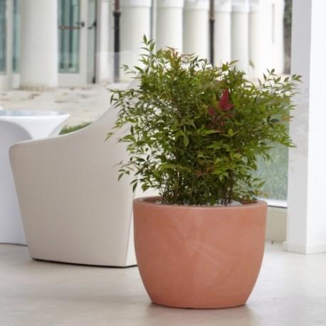 Nicoli conca hera 30 vasi resina vaso arredamento piante for Vasi da arredo