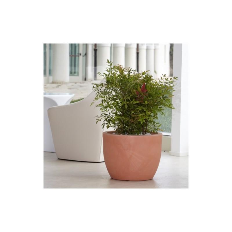 Nicoli conca hera 30 vasi resina vaso arredamento piante for Vasi nicoli