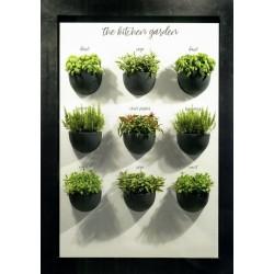 NICOLI GERLA CLIO 32 vasi resina vaso arredamento piante giardino terrazzo