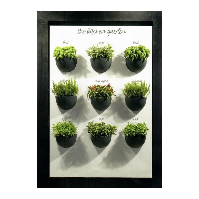 Nicoli gerla clio 32 vasi resina vaso arredamento piante for Vasi da arredo