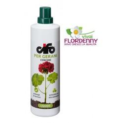 CIFO GRANVERDE GERANI 500ml concime fertilizzante balcone fioriture trentino geranio