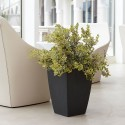 NICOLI VASO QUADRO LOGOS 40X40 vasi resina vaso arredamento giardino terrazzo