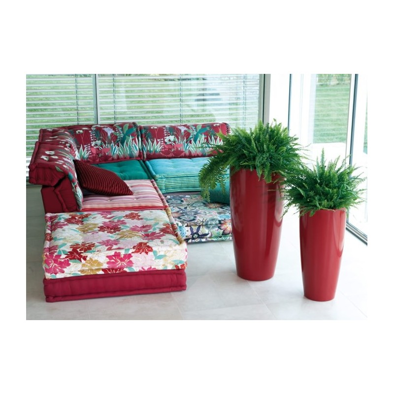 Nicoli vaso talos gloss h90 vasi resina vaso arredamento for Vasi nicoli