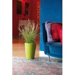 NICOLI VASO TYLUS GLOSS 30 H40 vasi resina vaso arredamento giardino terrazzo