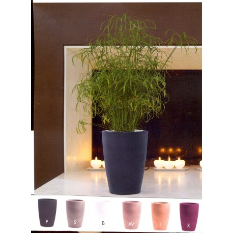Nicoli vaso tylus 23 vasi resina vaso arredamento giardino for Vasi nicoli