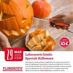 """LABORATORIO BIMBI """"intagliamo la nostra zucca di Halloween"""" 30 Ottobre 2019 ore 17.00"""