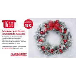 LABORATORIO NATALE ADULTI La Ghirlanda Natalizia 16 Novembre ore 15.00