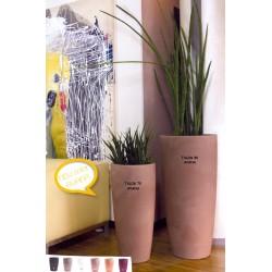 NICOLI VASO TALOS H90 vasi resina vaso arredamento giardino terrazzo
