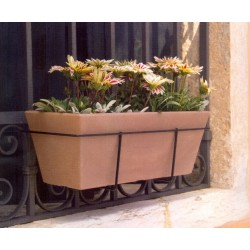 NICOLI CASSETTA MISYA 40 vasi resina vaso arredamento piante giardino terrazzo