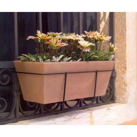Nicoli cassetta misya 50 portafioriera in ferro vasi for Arredamento piante