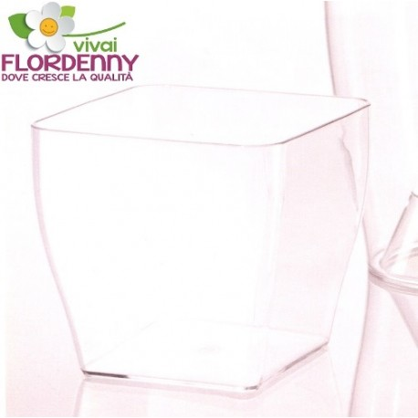 Veca vaso trasparente living 15x15 casa arredo giardino for Tutto x giardino