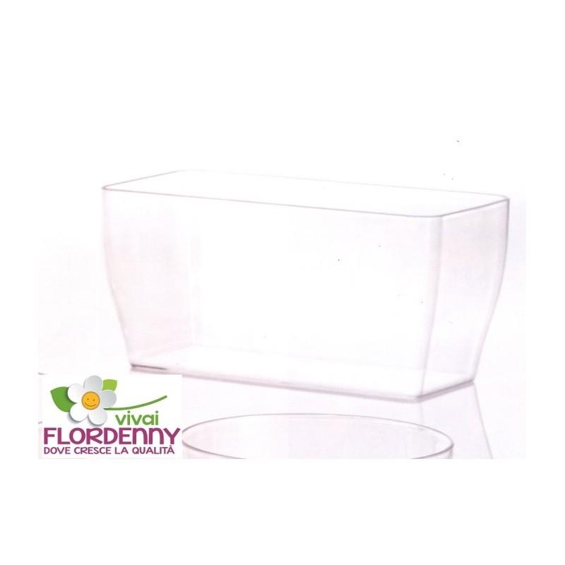 Veca vaschetta trasparente living 26x13 cm casa arredo for Arredo giardino piante