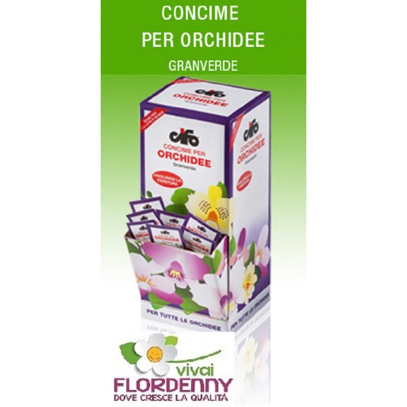 Cifo concime orchidee 3 bustine da 2 5 ml fertilizzante for Concime per orchidee