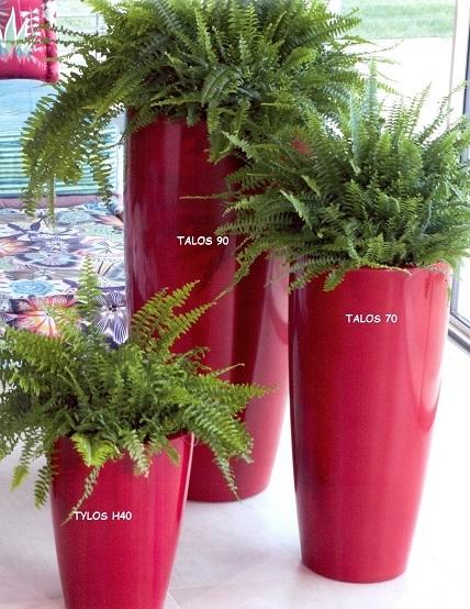 Nicoli vaso talos gloss h90 vasi resina vaso arredamento for Vasi da arredamento design