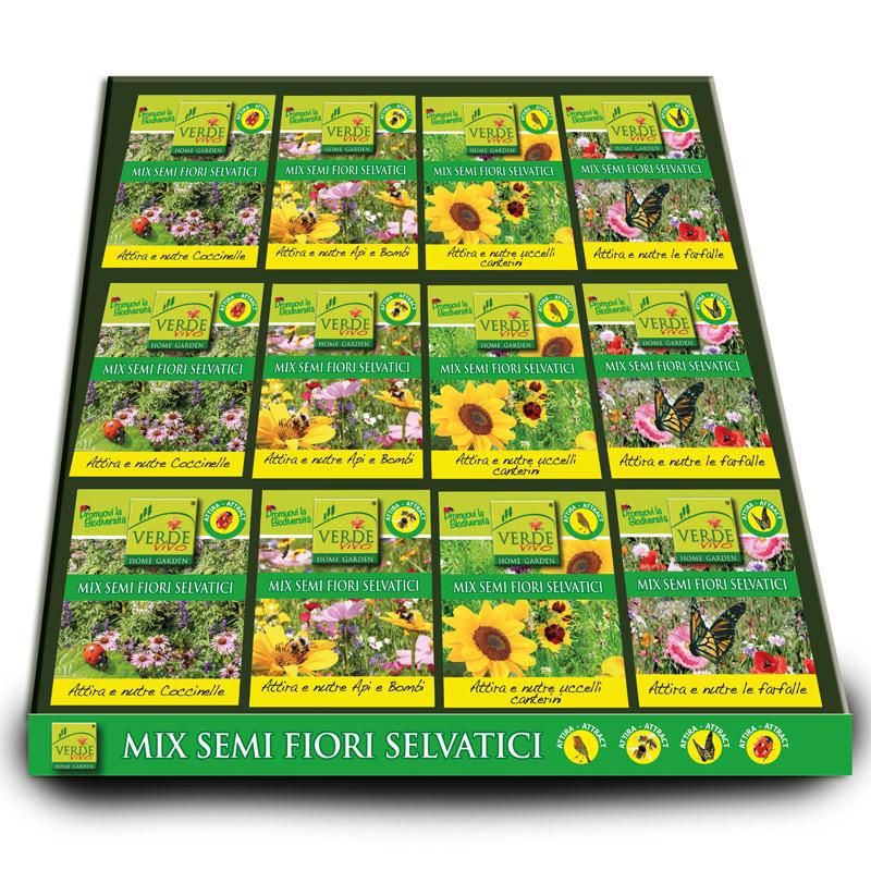 Verdevivo semi di fiori per farfalle biodiversita 39 100g for Semi di fiori